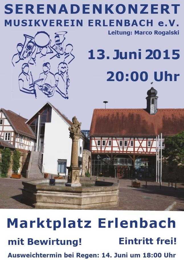Musikverein Erlenbach Serenadenkonzert 2015