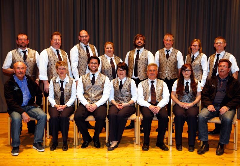 Musikverein Erlenbach Vereinsleitung 2015