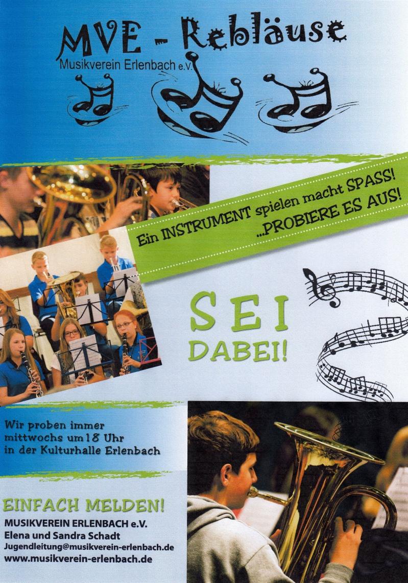 Jugendwerbung MV Erlenbach