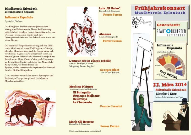 Musikverein Erlenbach Frühjahrskonzert 2014