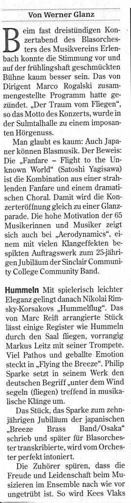 Heilbronner Stimme vom 22.03.2016