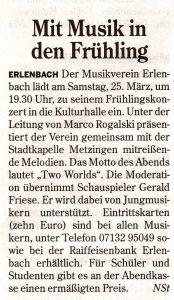 Neckarsulmer Stimme vom 23.03.2017
