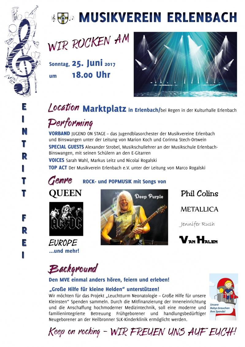 Infoblatt Serenadenkonzert
